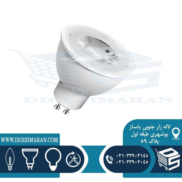 لامپ هالوژنی لنز دار 6 وات سیماران